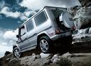 Фото авто Mercedes-Benz G-Класс W463 [рестайлинг], ракурс: 135 цвет: серебряный