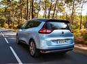 Фото авто Renault Scenic 4 поколение, ракурс: 135 цвет: голубой
