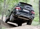 Фото авто Mercedes-Benz M-Класс W166, ракурс: 180 цвет: черный