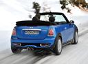 Фото авто Mini Cabrio R57 [рестайлинг], ракурс: 225 цвет: голубой
