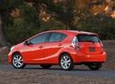 Фото авто Toyota Prius C 1 поколение, ракурс: 180