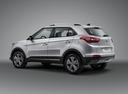 Фото авто Hyundai Creta 1 поколение, ракурс: 135 - рендер цвет: серебряный