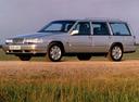 Фото авто Volvo V90 1 поколение, ракурс: 45 цвет: серебряный