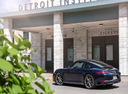Фото авто Porsche 911 991 [рестайлинг], ракурс: 135 цвет: синий