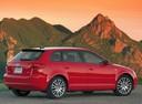 Фото авто Audi A3 8P/8PA [рестайлинг], ракурс: 225 цвет: красный