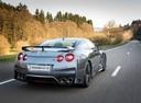 Фото авто Nissan GT-R R35 [3-й рестайлинг], ракурс: 225 цвет: серебряный