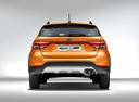 Фото авто Kia Rio 4 поколение, ракурс: 180 - рендер цвет: оранжевый