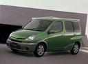 Фото авто Toyota Fun Cargo 1 поколение, ракурс: 45