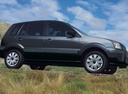 Фото авто Ford Fusion 1 поколение [рестайлинг], ракурс: 270 цвет: черный
