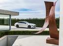 Фото авто Mercedes-Benz AMG GT C190 [рестайлинг], ракурс: 270 цвет: белый