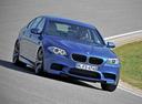 Фото авто BMW M5 F10,  цвет: синий