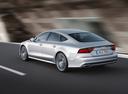 Фото авто Audi A7 4G [рестайлинг], ракурс: 135 цвет: серебряный