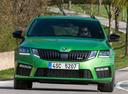 Фото авто Skoda Octavia 3 поколение [рестайлинг],  цвет: зеленый