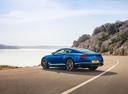 Фото авто Bentley Continental GT 3 поколение, ракурс: 135 цвет: голубой