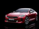Фото авто Kia Stinger 1 поколение, ракурс: 45 - рендер цвет: красный