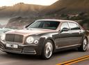 Фото авто Bentley Mulsanne 2 поколение [рестайлинг], ракурс: 45 цвет: серый