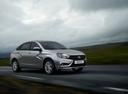 Фото авто ВАЗ (Lada) Vesta 1 поколение, ракурс: 315 цвет: серебряный