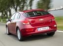 Фото авто Chevrolet Cruze J300, ракурс: 180 цвет: красный