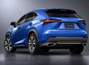 Фото авто Lexus NX 1 поколение [рестайлинг], ракурс: 135 цвет: синий