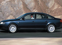 Фото авто Audi A6 4B/C5, ракурс: 90 цвет: мокрый асфальт