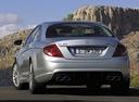 Фото авто Mercedes-Benz CL-Класс C216, ракурс: 180 цвет: серебряный