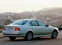 Фото авто BMW 5 серия E39 [рестайлинг], ракурс: 225 цвет: серебряный