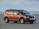 Фото авто Volkswagen Touran 1 поколение [рестайлинг], ракурс: 270