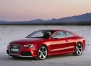Фото авто Audi RS 5 8T [рестайлинг], ракурс: 45 цвет: красный