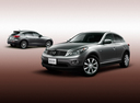 Фото авто Nissan Skyline Crossover J50, ракурс: 45