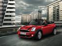 Фото авто Mini Cabrio R57 [рестайлинг], ракурс: 45 цвет: красный
