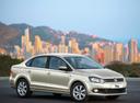 Фото авто Volkswagen Polo 5 поколение, ракурс: 315 цвет: серебряный