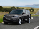 Фото авто Land Rover Range Rover 4 поколение [рестайлинг], ракурс: 45 цвет: серый