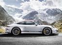 Фото авто Porsche 911 991 [рестайлинг], ракурс: 270 цвет: белый