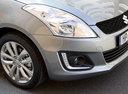 Фото авто Suzuki Swift 4 поколение [рестайлинг], ракурс: передняя часть цвет: серый