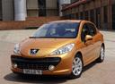 Фото авто Peugeot 207 1 поколение, ракурс: 45 цвет: бронзовый