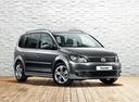 Фото авто Volkswagen Touran 1 поколение [2-й рестайлинг], ракурс: 315 цвет: серый