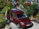 Фото авто Volkswagen Caddy 3 поколение [рестайлинг], ракурс: 315 цвет: красный