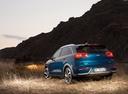 Фото авто Kia Niro DE, ракурс: 135 цвет: синий
