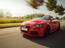 Фото авто Audi TT 8J [рестайлинг], ракурс: 45 цвет: красный