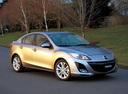 Фото авто Mazda 3 BL, ракурс: 315 цвет: серебряный