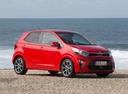 Фото авто Kia Picanto 3 поколение, ракурс: 315 цвет: красный