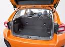 Фото авто Subaru XV 2 поколение, ракурс: багажник цвет: оранжевый