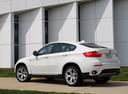 Фото авто BMW X6 E71/E72, ракурс: 135 цвет: белый
