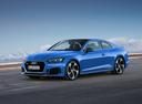 Фото авто Audi RS 5 F5, ракурс: 45 цвет: голубой