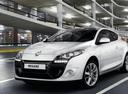 Фото авто Renault Megane 3 поколение [рестайлинг], ракурс: 45 цвет: белый
