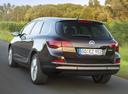 Фото авто Opel Astra J [рестайлинг], ракурс: 180 цвет: коричневый