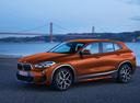 Фото авто BMW X2 F39, ракурс: 45 цвет: бронзовый
