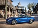Фото авто Mercedes-Benz AMG GT C190 [рестайлинг], ракурс: 90 цвет: голубой