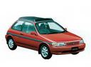 Фото авто Toyota Tercel L40, ракурс: 315 цвет: красный