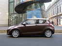 Фото авто Suzuki Swift 4 поколение [рестайлинг], ракурс: 90 цвет: коричневый